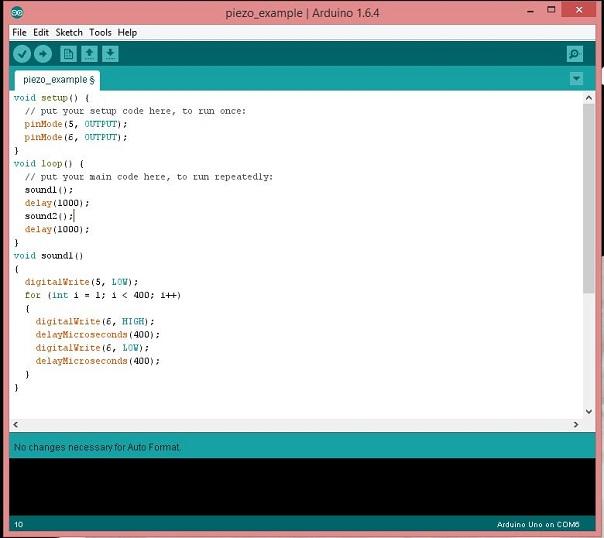 Arduino Motor PWM code – Electronics Freak