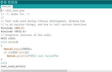 Arduino with RFM69HW control 2 leds code – Electronics Freak